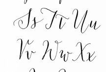 Calligraphy & Handwriting