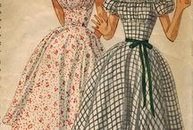 Vintage Sewing Patterns / Sewing patterns I like and want.