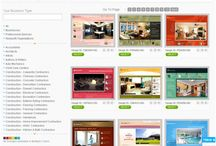 Website builder Templates