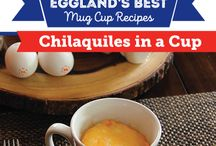EB Mug Cup Recipes / Never skip a meal again with these quick and delicious Eggland's Best Mug Cup Recipes