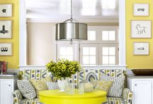 April 2017 - styling your Breeze House / The days are longer, the weather is getting warmer - what better way to celebrate the month of Spring and Easter than with bright, sunny yellows. From soft furnishings to flowers, there are lots of ways to introduce these happy, optimistic colours to your Breeze House scheme!