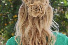 ballagási frizurák