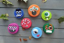 Bottle cap crafts / There's so much to do with bottle caps, and it's so easy.  A board filled with wonderful ideas :)