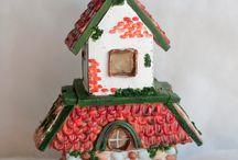 Casas de galleta