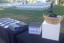 Zach's Bar Mitzvah / #Barmitzvah at #Mountaingate #Countryclub. Thank you La Petite Gardenia for all the #floral, Noma and Dolly for the #creative #escort #card #design, and SEP for the #lighting. #twotreeevents