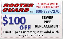 Rooter guard - Special Offers / Los Angeles Plumbing & Rooter Services - Rooter guard - Special Offers
