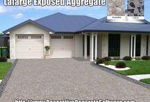 Exposed Aggregate - Decorative Concrete Software