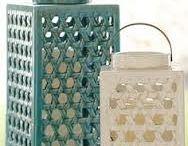 Garden lanterns / ceramics