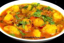 Aloo Curry-Aloo ki Sabzi with Gravy