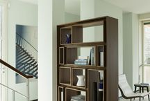 Two sided bookcase
