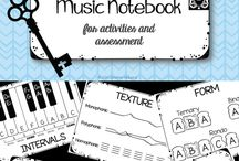 Interactive Notebooks for Music Classes