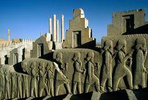 Persépolis - Rei Ciro e Rei Dario