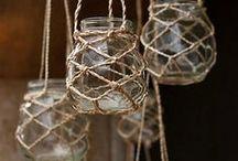 frascos de vidrio