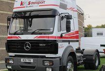 T MERCEDES BENZ TRUCKS (SK) / Truck of the German brand MERCEDES BENZ,SK series model.