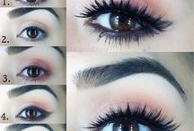 Make-up how-to's