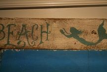 Nautical Decor - Mermaids / Mermaid decoration for home or business!