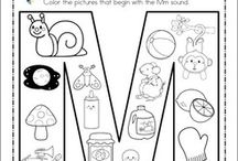 Letter/Sound Coloring Page