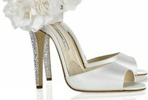 Wedding Shoes / May you live as long as you wish and love as long as you live. - Robert A. Heinlein