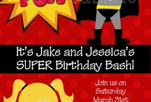 Superhero Twin Party