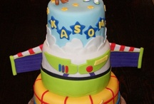 Toy Story Party / Finlay's 4th Birthday Party theme. Toy Story themed games, decor and party food