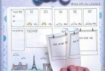 Bullet Journal - Date depandant lists ideas