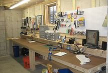 Shop and Garage Ideas / by AJ Lorenzen