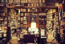 Bibliophile / Library and study spaces, beautiful books and paper