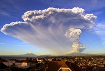 Chilei Calbuco vulkán