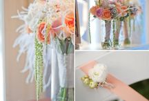 Wedding inspirations coral