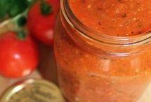 Salsa de tomate frito al estilo italiano