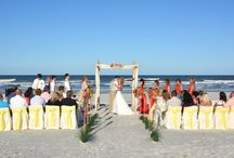 St. Augustine Florida Beach Weddings / St. Augustine is known for its history, but it also is a great place to have a beach wedding!
