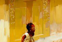 Peter Pharoa - South African artist / Artist from Wilderness South Africa