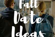 Fall Date Night Ideas / Tips and ideas for a fall date night with your spouse. Date night ideas, fall date night ideas. Marriage date nights ideas for the fall.