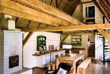 Traditional wood house design