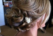 Wedding hair / make up