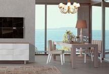 Maserati Serisi / Maserati Yatak Odası, Yemek Odası ve TV Ünitesi serisi ile kaliteyi yaşamak isteyenlere