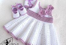 bambini e maglia uncinetto