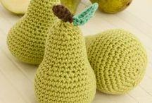 fruits et légumes au crochet