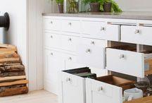 Landlige & minimalistiske kjøkken