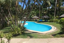 Lazy days by the Tambua Pool / Another hot day at Tambua Sands. Time a dip in the pool