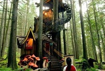 Me and my child tree house wishlist.. / Garden , tree house, farm