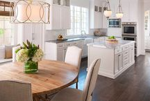 Elegant kitchen design / Traditional with contemporary elements.