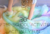 Homeschool activities/centers / by Sara Richins
