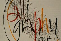 Calligraphy & Hand Lettering
