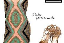 Moda étnica / A etnia geométrica está super em alta! Ela traz diversidade de texturas e de tons em uma única peça. Linda essa trend!