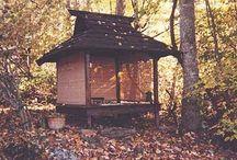 Outdoor Meditation spaces / Getting zen