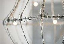 Rautalanka-wire / Piikki ja rautalanka ideoita