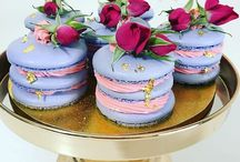 macaronmini cake