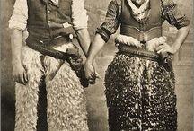 Vintage Cowboy Cowgirl