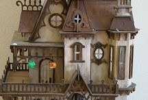 Haunted Dollhouse Project Ideas